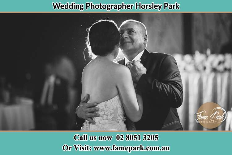 Photo of the Bride dancing with her father Horsley Park NSW 2175