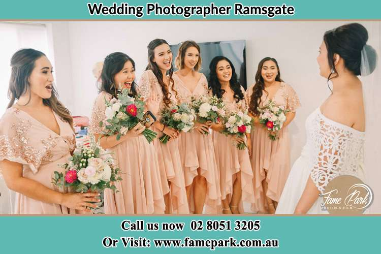Photo of the Bride and the bridesmaids Ramsgate NSW 2217